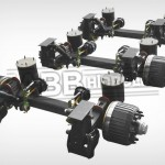 3 Axle Set With Air Suspension