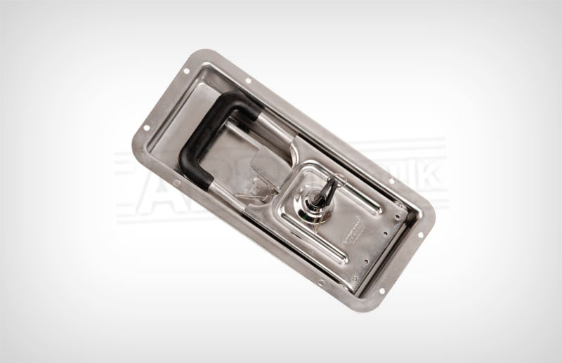 235100 Mortise Lock Chrome / Old